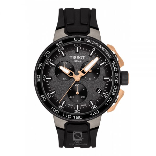 tissot-t-race-cycling-negro-dorado - Joyeria intercontinental