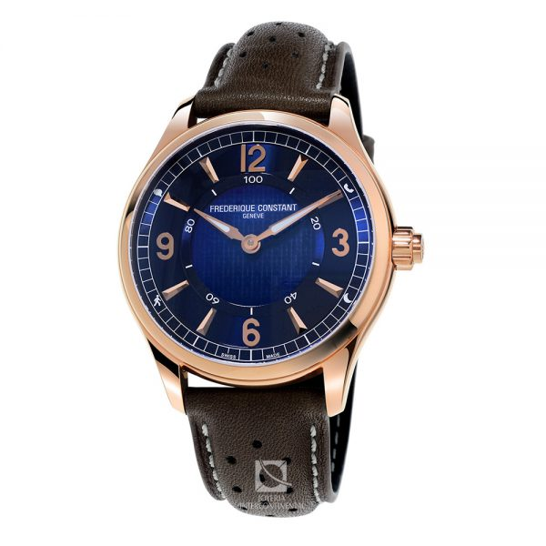 reloj frederique constant smartwatch display azul